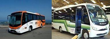 現地のバス(イメージ)