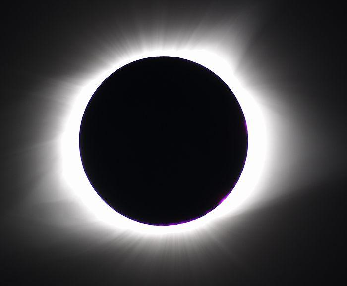 2017年8月21日 皆既日食 コロナ アメリカ アイダホ