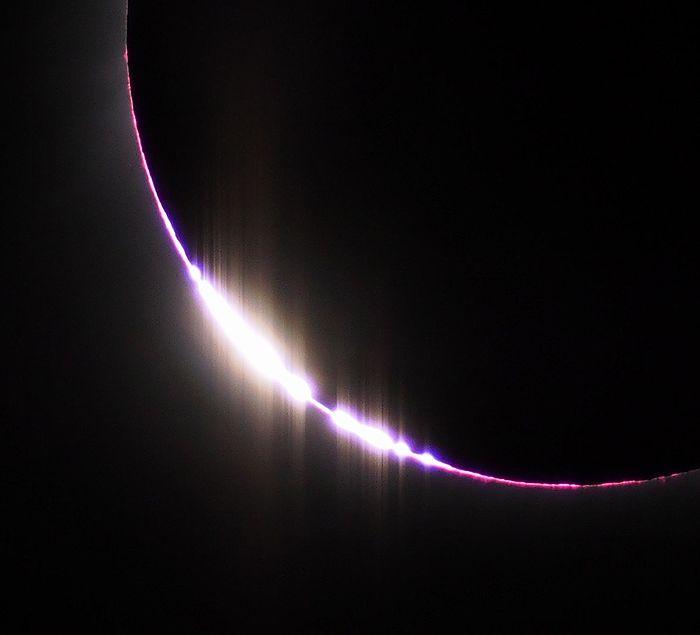 2017年8月21日 皆既日食 ベイリービーズ アメリカ アイダホ